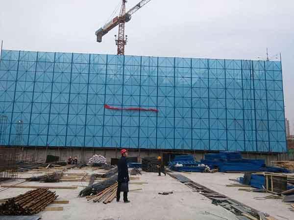 晋城爬架网使用安装